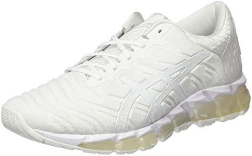 white asics running shoes