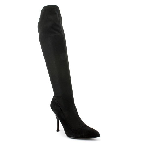 Enzo Angiolini Womens Knee High Boots Size 5.5 M EAKATALYST01 Katalyst Black