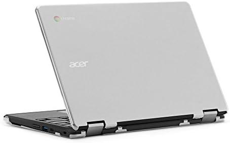 mCover - Carcasa rígida para Acer Chromebook Spin 11 R751T CP311 (** No es compatible con ninguna otra computadora portátil Acer **) -Transparente
