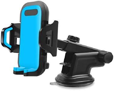 車の電話ホルダー、多機能カーナビゲーションフレーム付きインストルメントパネルエアアウトレットフロントガラス (色 : A)