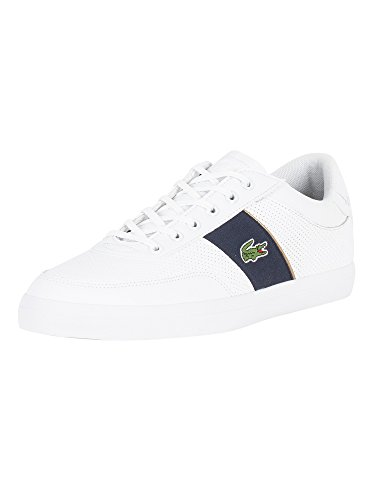Lacoste Homme Chaussures/Baskets Court-Master Blanc