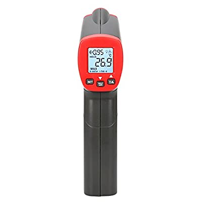 UT300S Handheld Digital Non-contact IR Thermometer Temperature Gun with LCD Backlight