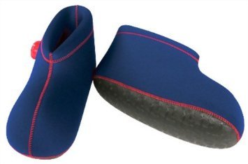 CLO'Z Yawaraka-Yutanpo Soft Hot-Water Bottle, For Feet, Sole Of Feet Included, Short-Type, Navy Blue, S: Up To 9.44'' (24Cm)