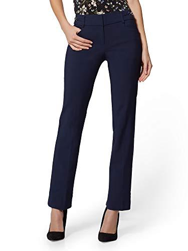New York & Co. 7Th Avenue Pant - Mid Rise - Petite 4 Grand Sapphire