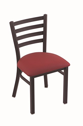 Wine Frame Black Red Seat (Holland Bar Stool 400 Jackie 18
