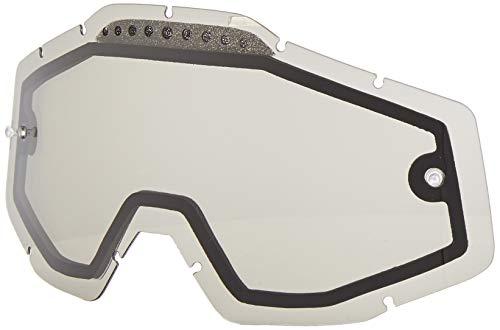100% Unisex-Adult Speedlab (51006-007-02) RACECRAFT/ACCURI/STRATA Vented Dual Pane Lens Anti-Fog-Smoke, Free Size)