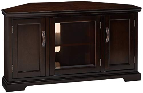 Leick Riley Holliday Corner TV Stand with Storage, 46-Inch, -