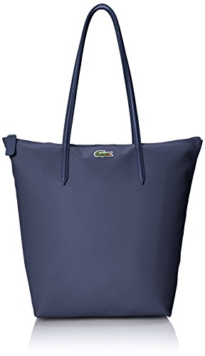 Lacoste Women's L.12.12 Concept Vertical Tote Bag, Eclipse, One Size