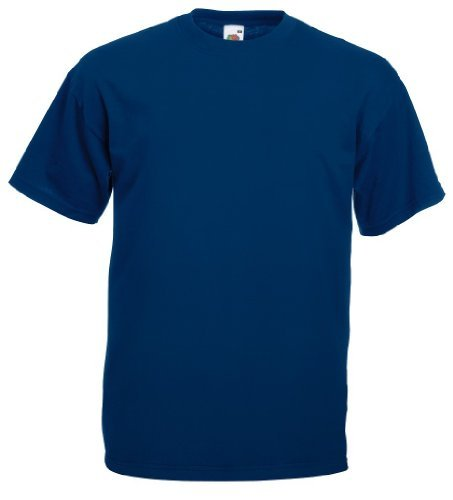 Fruit of the Loom - Classic T-Shirt 'Value Weight' XXL,Navy