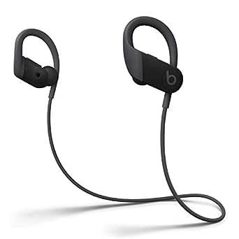 Trådlösa Powerbeats-öronsnäckor med hög prestanda – Apple H1-chippet, Class 1 Bluetooth, 15 timmars lyssning, svettåliga hörsnäckor – Svart