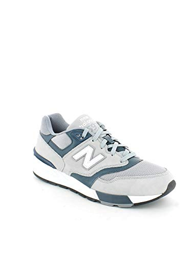 Balance 597 New classics Teal Suede Grey Traditionnels gtwtCq