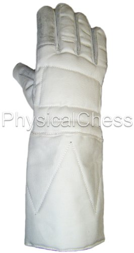 Budget foil/epee/sabre leather palm glove