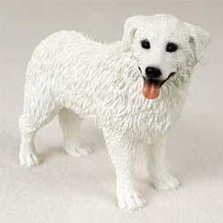 Kuvasz Dog Figurine