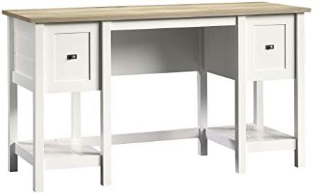 picture of Sauder Cottage Road Desk, Soft White finish