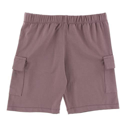 KicKee Pants Solid Performance Jersey Cargo Short in Raisin, - Cargo Raisin