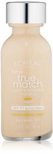 Price comparison product image L'Oreal Paris True Match Super-Blendable Makeup, Porcelain, 1 fl. oz.