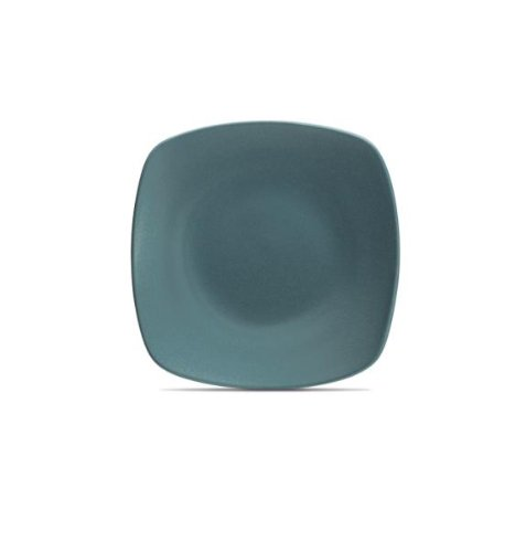 Noritake Colorwave Square Platter, 11-3/4-Inch, Turquoise Blue