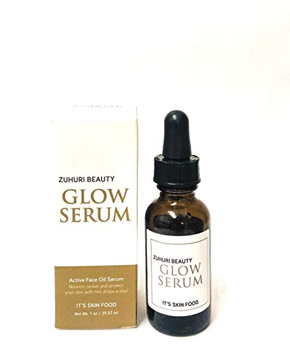 Zuhuri Beauty Glow Serum - An Advanced Natural Hydrating and Healing Face Oil Serum for Combination, Oily and/or Acne… 1