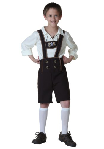 Lederhosen Costume Child - Fun Costumes ' Lederhosen Costume X-large