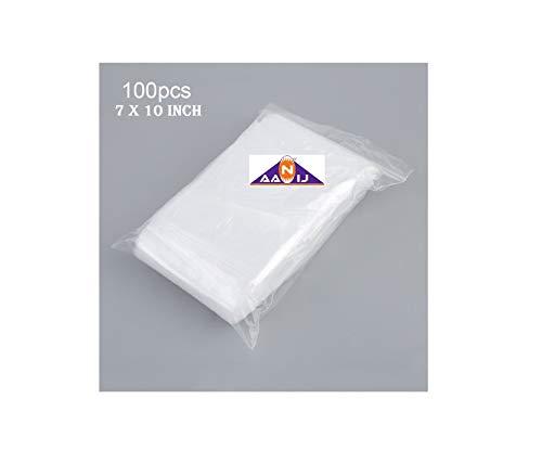 AANIJ Indo Multi-Purpose, Food Grade, Lldp Virgin Plastic Polythene Bags (7×12-inch, Clear) Price & Reviews