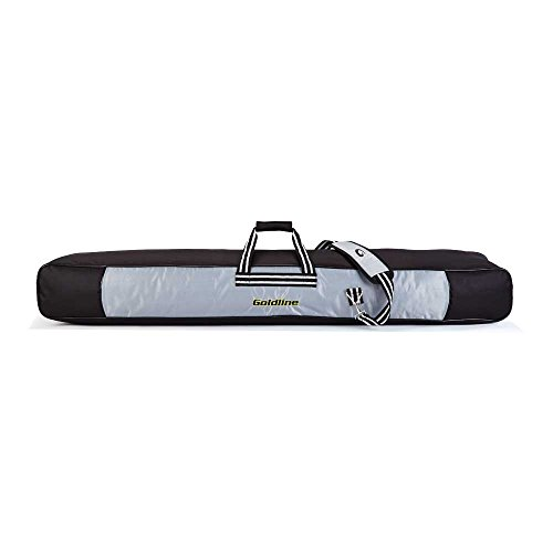 Goldline Curling Personal Broom Bag: Silver