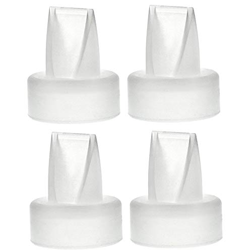 Maymom Valve Replacements for Classic Freemie Collection Cups. Replaces Freemie Duckbills or Freemie Valves. (4 pc): Not for Freemie Closed System.