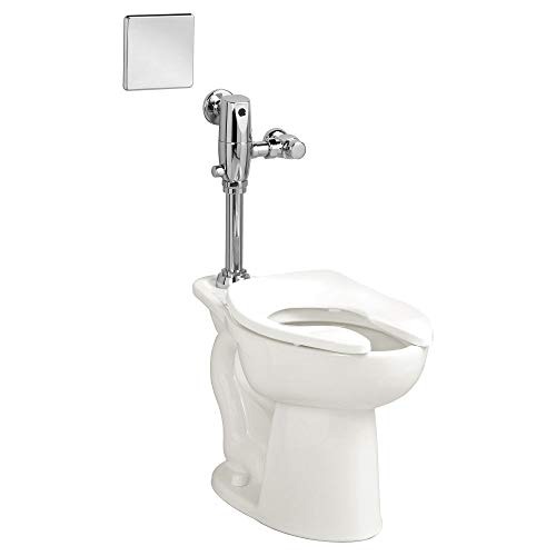 American Standard 3461001.020 Madera 15-In Elongated Toilet Bowl with Slotted Rim, 1.5 in in, WHITE