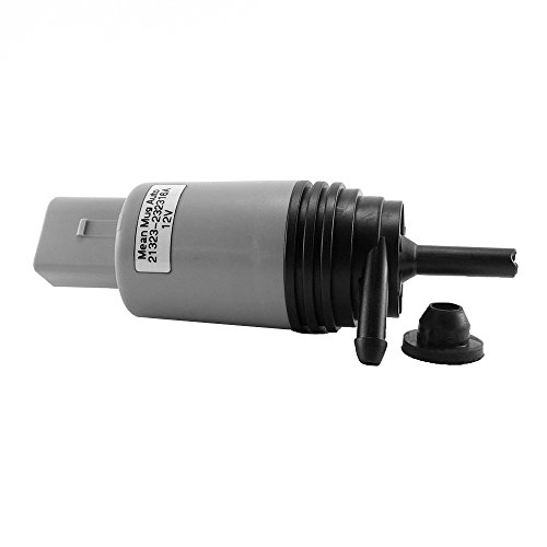 Mean Mug Auto 21323-232316A Windshield Washer Pump w/ Grommet - For: BMW - Replace OEM #: 67126934159, 67127302589