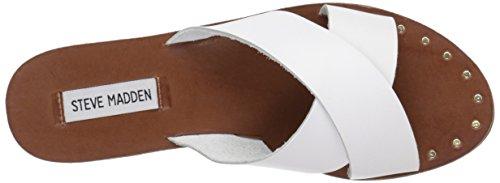 White Dryzzle Sandali Madden Steve Scorrere Leather 6z7IIq