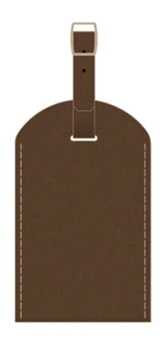 Pierre Belvedere Executive Luggage Tag, Chocolate (677300)