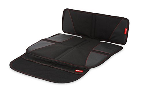 leather booster car seat - 1