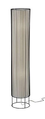 "19.75"" Vaughn Tall Table Lantern Black - Adesso"