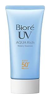 Biore Sarasara Aqua Rich Watery Essence SPF50+/PA++++ 50g Sunscreen (B00SM99KWU) | Amazon price tracker / tracking, Amazon price history charts, Amazon price watches, Amazon price drop alerts