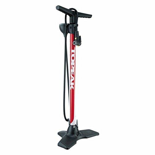 Floor Pump, Red, 200 PSI/14 BAR (Joe Blow Sport Floor Pump)