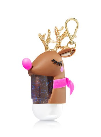 Bath & Body Works PocketBac Holder Light Up Reindeer 2017 -