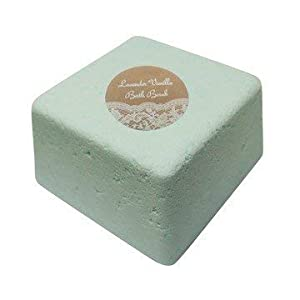 Extra Large Fizzy Bath Bomb Gift Set Featuring Luxurious Lush Style Giant Jumbo Cube In Gift Box (Aloe Green Tea) 8