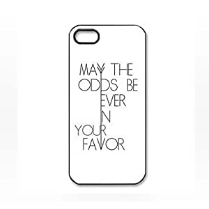 WKell The Hunger Games Quotes Pattern Plastic Hard Case for iphone 5c iphone 5c/