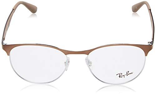 665368bd064 Amazon.com  Ray-Ban RX6365 Eyeglasses Gunmetal Top on Elecrtic Blue 53mm   Shoes