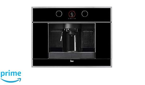 Teka CLC 835 MC Cafetera de Cápsulas, 2100 W, 1 Liter, Negro, Acero inoxidable