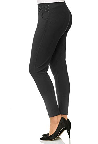 Plus Taille Dames Gris Stretch Pour Treggings Surdimension Arizonashopping Pantalon qZY6wxE0