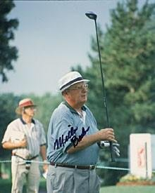 Miller Barber Autographed Photo - 8x10 - Autographed Golf Photos ()