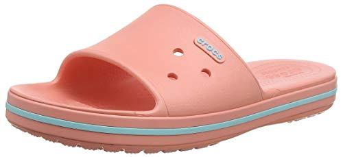 Adulto Rosa De Unisex 7h5 Descubierta Crocs Crocband Iii melon Slide Blue ice Punta Sandalias q6w8zZwI