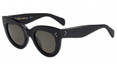 celine-sunglasses-41050-s-frame-black-lens-green