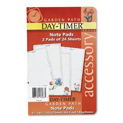 (Day-Timer Garden Path Design Note Pad)