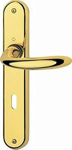 Maniglie per porte interne con placca distanza 70 HOPPE serie Sidney ...