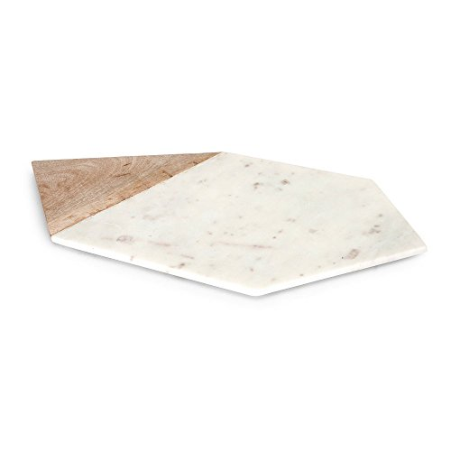 IMAX-Verena-Large-Marble-and-Wood-Cheese-Board