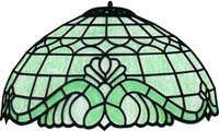 3 Shade Stained Glass Lamp - 16