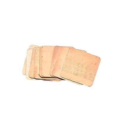 10 Piezas de Cobre Puro, latón, Caldera del disipador ...