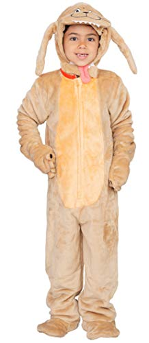 Child Dog Flappy Suit Halloween Costume Jumpsuit Brown for $<!--$54.95-->