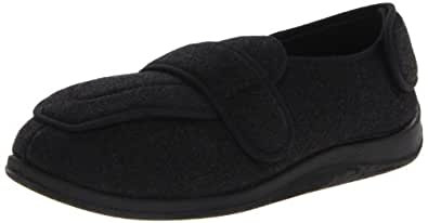 Foamtreads Men's Physician Slipper,Charcoal,7 M US